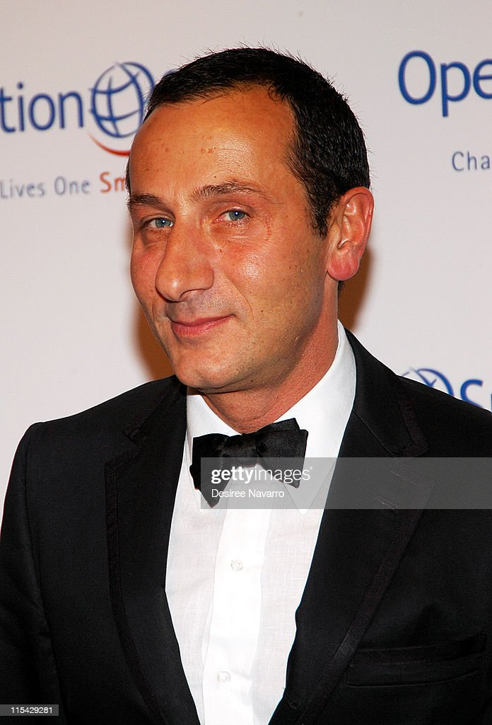 J.Mendel during 'The Smile Collection' - Operation Smile's Annual Charity Dinner and Live Auction at Skylight Studios in New York, NY, United States.