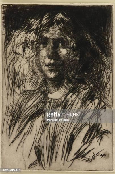 Jo, 1861. Artist James Abbott McNeill Whistler.