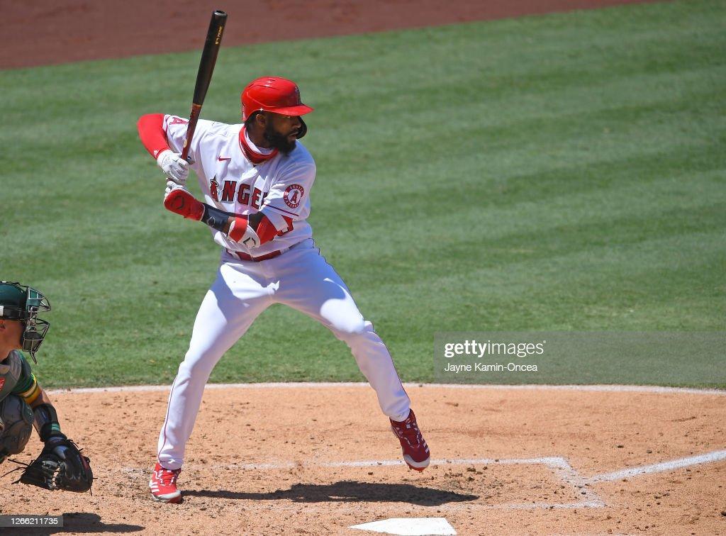 Oakland Athletics v Los Angeles Angels : News Photo