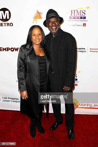 Jo Ann Allen and actor Glynn Turman attend A New Day Concert For A Cause at Saban Theatre on December 13 2015 in Beverly Hills California