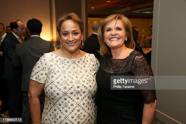 AARP CEO Jo Ann Jenkins and AARP Foundation President Lisa Marsh Ryerson attend AARP The Magazine's 19th Annual Movies For Grownups Awards at Beverly...