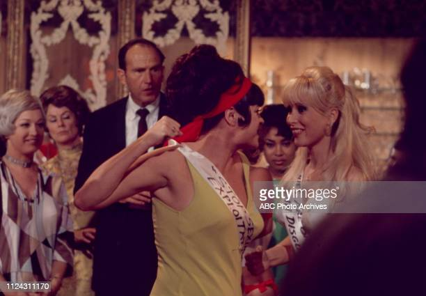 Jo Anne Worley, Barbara Eden appearing in the Walt Disney Television via Getty Images tv movie 'The Feminist and the Fuzz'.