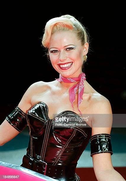 Jo Beth Taylor during rehearsals for the stage production of 'Happy Days: The Arena Mega Musical' at the Sydney SuperDome on October 15, 1999 in...