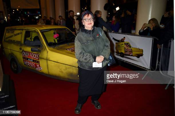 Jo Brand attends the opening night of Only Fools and Horses The Musical at Theatre Royal Haymarket on February 19 2019 in London England