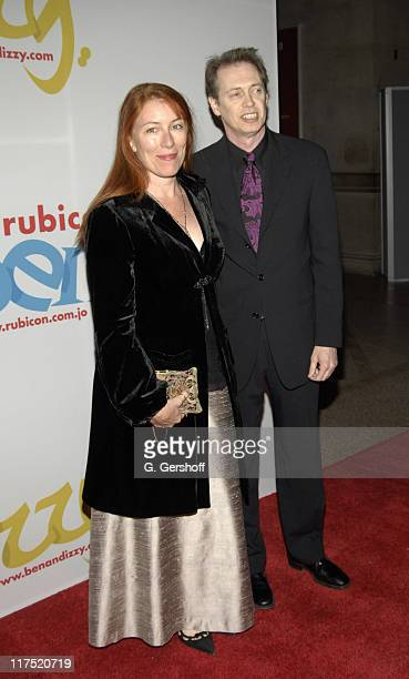 """Jo Buscemi and Steve Buscemi during Gala Dinner Introducing """"Ben and Izzy"""" with Special Guest Her Majesty Queen Rania Al-Abdullah of Jordan at..."""