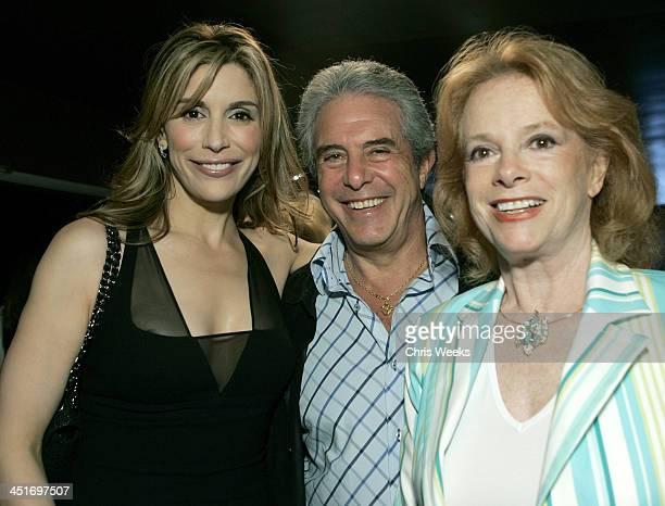 Jo Champa and Luciana Paluzzi during Jo Champa Hosts Massimo Troisi Retrospective at Aero Theatre in Santa Monica, California, United States.