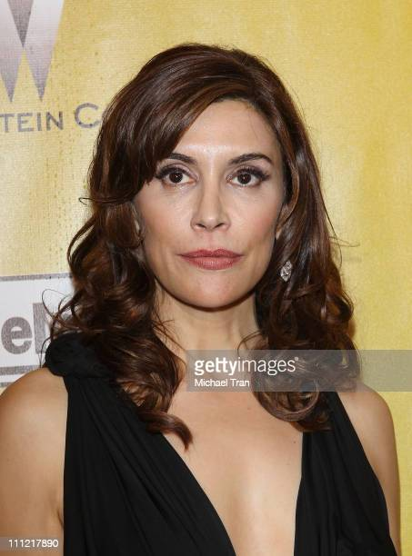 Jo Champa arrives to The Weinstein Company 2010 Golden Globes Afterparty held at Bar 210 inside The Beverly Hilton Hotel on January 17 2010 in...