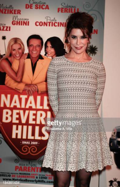 Jo Champa attends the premiere of ''Natale A Beverly Hills'' at the Warner Moderno Cinema on December 17, 2009 in Rome, Italy.