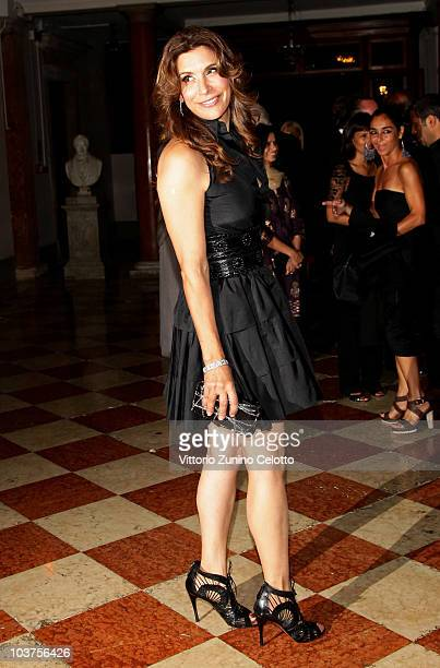 Jo Champa attends the Uomo Vogue Hosts Dinner For Quentin Tarantino during the 67th Venice International Film Festival on August 31 2010 in Venice...
