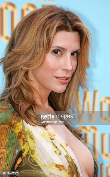 Jo Champa during 2005 World Music Awards Arrivals at Kodak Theater in Hollywood California United States