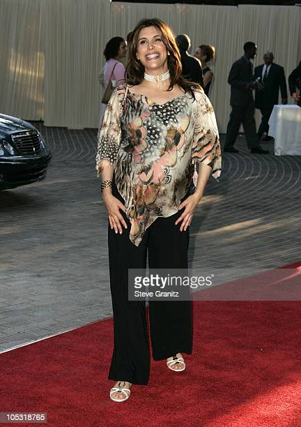 Jo Champa during 6th Annual MercedesBenz DesignCure at Home of Sugar Ray and Bernadette Leonard in Pacific Palisades California United States