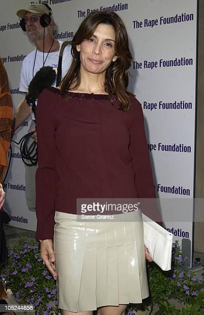 Jo Champa during Jennifer Aniston hosts the annual benefit for the Rape Treatment Center of Santa MonicaUCLA Medical Center Center shot on 9142003 at...