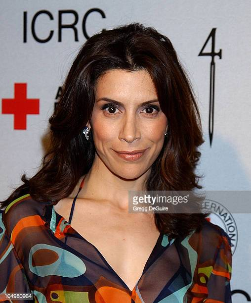 Jo Champa during Michel Comte's Benefit and Auction for People and Places With No Name Arrivals at Ace Gallery in Los Angeles California United States
