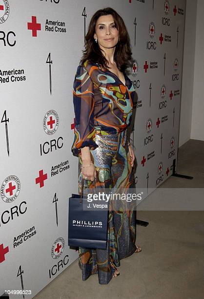Jo Champa during Michel Comte's Benefit and Auction for People and Places With No Name Party at Ace Gallery in Los Angeles California United States