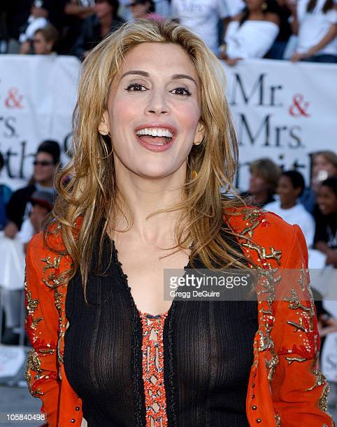 Jo Champa during Mr And Mrs Smith Los Angeles Premiere Arrivals in Los Angeles California United States