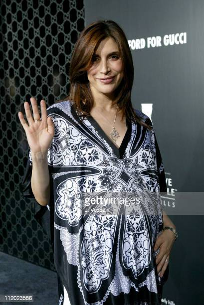 Jo Champa during Rodeo Drive Walk of Style Event Honoring Tom Ford Red Carpet at Rodeo Drive in Beverly Hills California United States