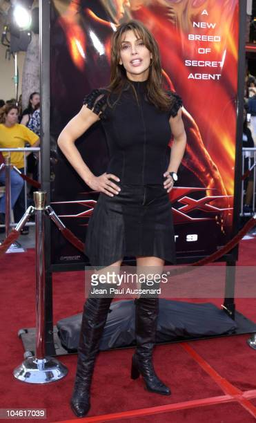 Jo Champa during 'XXX' Premiere in Los Angeles at Mann's Village in Westwood California United States