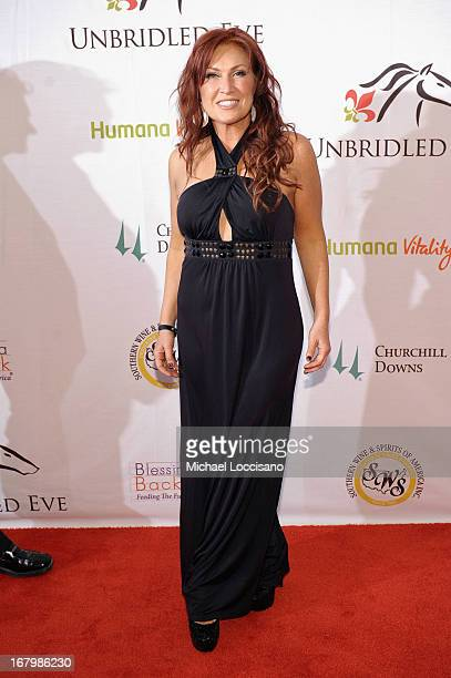Jo Dee Messina attends the Unbridled Eve Gala for the 139th Kentucky Derby at The Galt House Hotel Suites' Grand Ballroom on May 3 2013 in Louisville...