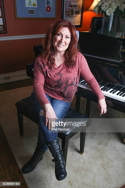 Jo Dee Messina in her home in Franklin Tennessee USA
