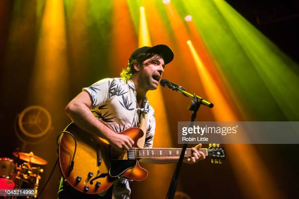 Jo Dudderidge of The Travelling Band performs at O2 Shepherd's Bush Empire on October 3 2018 in London England