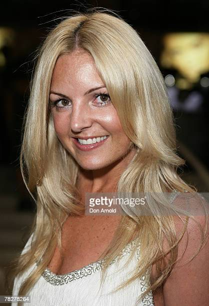 Jo Ferguson attends the launch of Paspaley Polo in Centennial Park at the Paspaley Boutique on December 6 2007 in Sydney Australia
