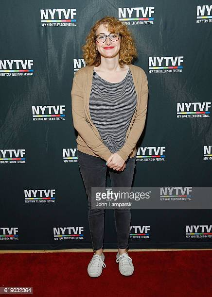 Jo Firestone attends Development Day Panels during the 12th Annual New York Television Festival at Helen Mills Theater on October 29 2016 in New York...