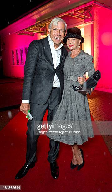 Jo Groebel and Barbara Engel attend the 'Fest der Eleganz und Intelligenz' at Villa Siemens on September 20 2013 in Berlin Germany