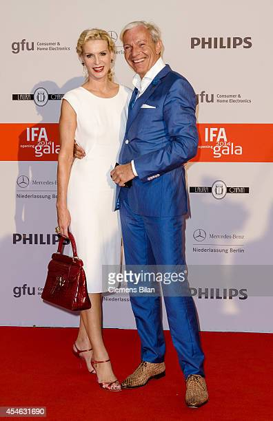 Jo Groebel and Grit Weiss attend the IFA 2014 Consumer Technology Trade Fair Opening Gala at Messe Berlin on September 4 2014 in Berlin Germany