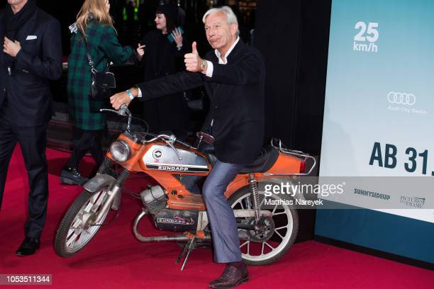 Jo Groebel attends the '25 km/h' movie premiere at CineStar on October 25 2018 in Berlin Germany