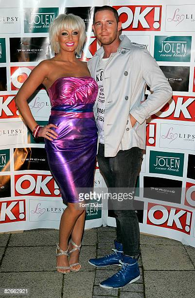 Jo Guest and Guest attend ITV At The Movies Launch Party held at Perche Restaurant on September 4 2008 in London England