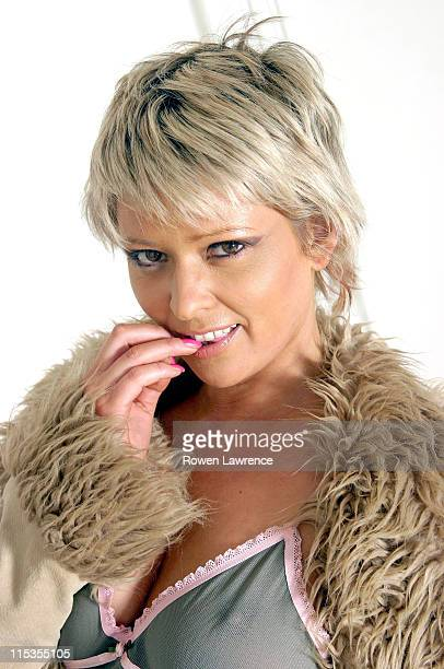Jo Guest during Joanne Guest Portraits May 22 2004 at Private Residence in London Great Britain