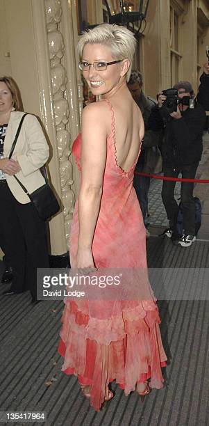 Jo Guest during Specsavers Sexy Specs 2005 Grand Final in London Great Britain