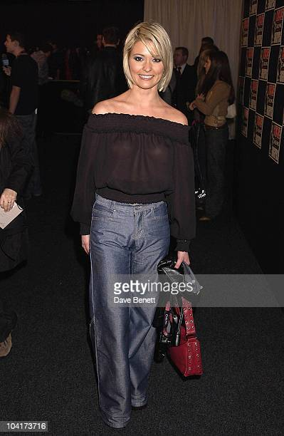 Jo Guest Nme Carling Awards 2002 In Shoreditch London