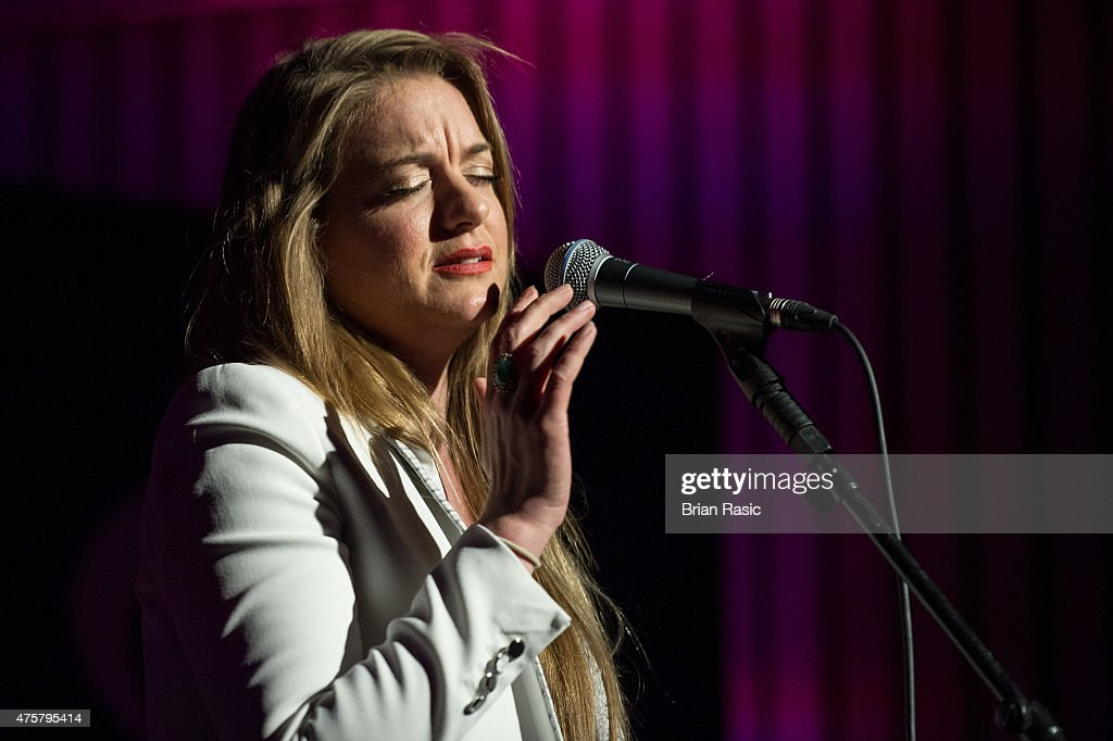 Jo Harman performs during Amnesty International UK celebrate 10th anniversary of headquaterson June 3, 2015 in London, England.