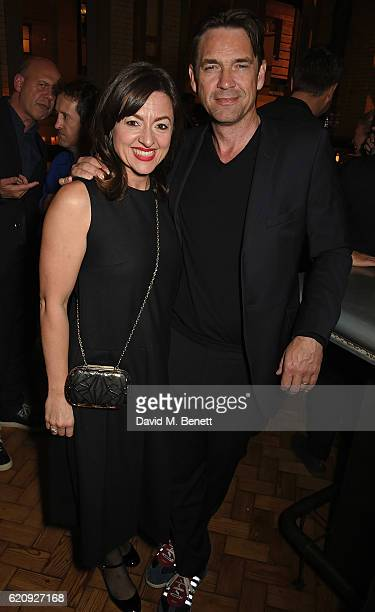 Jo Hartley and Dougray Scott attend the STYLE x PRINCIPAL Party at The Principal Manchester on November 3 2016 in Manchester England
