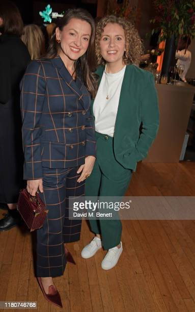 Jo Hartley and Kayleigh Llewellyn attend the BAFTA Breakthrough Brits celebration event in partnership with Netflix at Banqueting House on November 7...