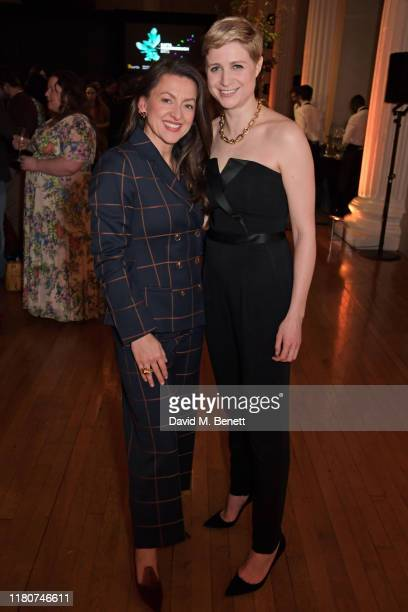 Jo Hartley and Niamh Algar attend the BAFTA Breakthrough Brits celebration event in partnership with Netflix at Banqueting House on November 7 2019...