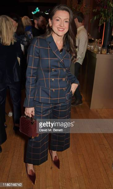 Jo Hartley attends the BAFTA Breakthrough Brits celebration event in partnership with Netflix at Banqueting House on November 7 2019 in London England