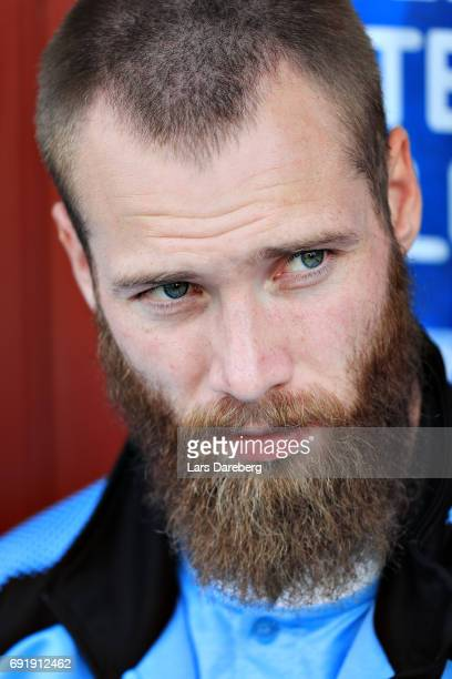 Jo Inge Berget of Malmo FF during the Allsvenskan match between Jonkopings Sodra IF and Malmo FF at Stadsparksvallen on June 3 2017 in Jonkoping...
