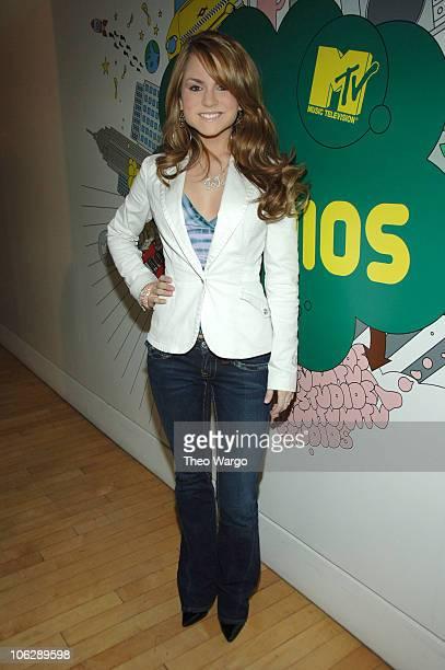 "Jo Jo during Jonas Brothers and JoJo Visit MTV's ""TRL"" Studios - March 1, 2006 at MTV Studios in New York City, New York, United States."