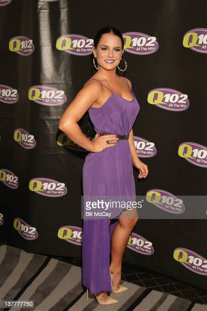 Jo Jo poses at the Q102 Sexy Singles 2012 party at the Hotel Palomar January 26 2012 in Philadelphia Pennsylvania