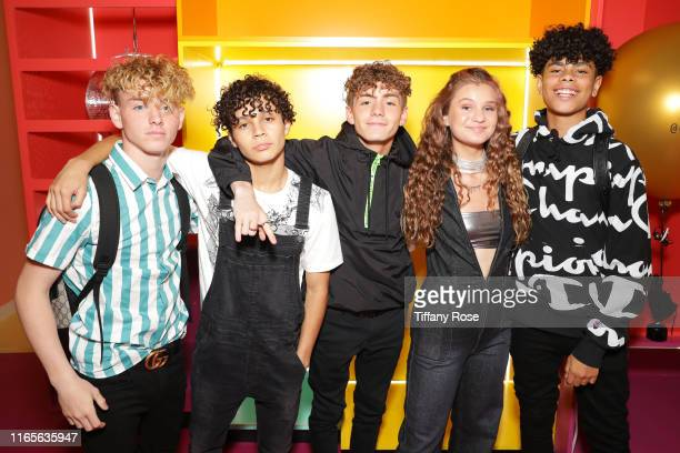 Jo Jo Tua Diego Martir Mikey Tua Cloe Wilder and Zion Sapong attends Cloe Wilder's i don't wanna Music Video Premiere Party on August 01 2019 in Los...