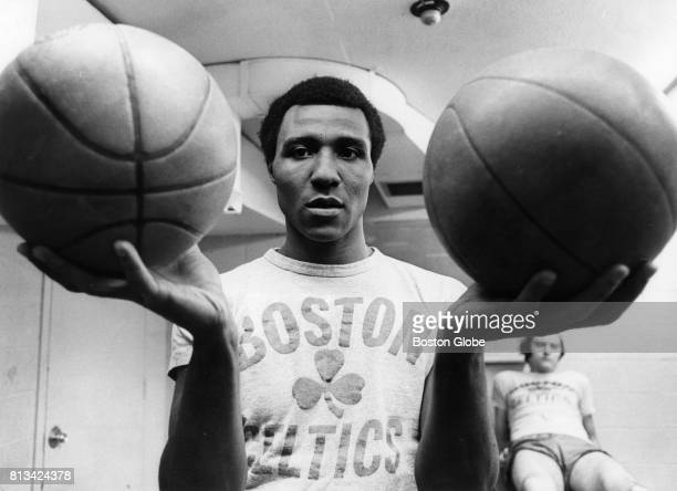 Jo Jo White one of four semifinalists poses for a portrait in Boston Jan 20 1972