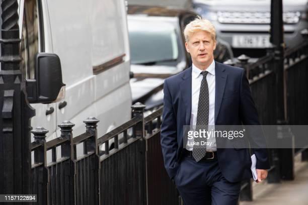 Jo Johnson brother of Conservative leadership candidate Boris Johnson is seen leaving parliament on June 20 2019 in London England Boris Johnson...