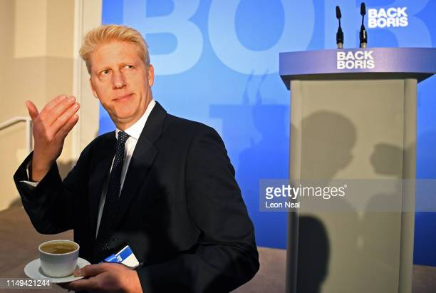 Jo Johnson MP and brother of Borus Johnson, attends the launch of the Boris Johnson Conservative Party leadership campaign at the Academy of...