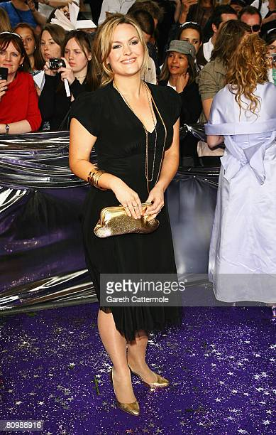 Jo Joyner arrives for the British Soap Awards 2008 at BBC Television Centre on May 3 2008 in London England