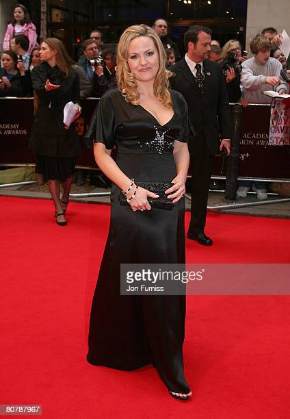 Jo Joyner attends the British Academy Television Awards 2008 held at The Palladium Theatre on April 20 2008 in London England