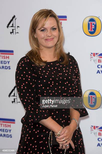Jo Joyner attends the British Comedy Awards at Fountain Studios on December 12 2013 in London England