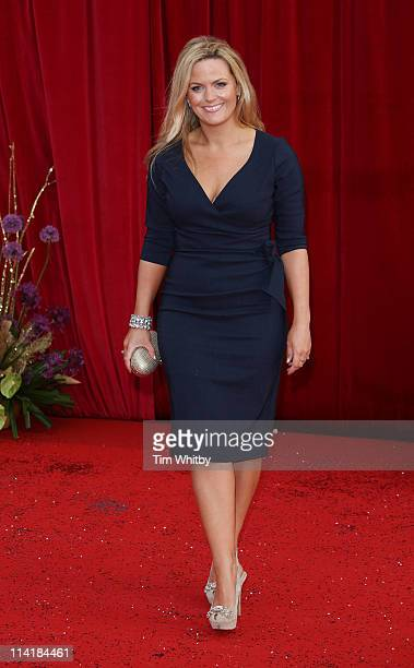 Jo Joyner attends The British Soap Awards at Granada Television Studios on May 14 2011 in Manchester United Kingdom