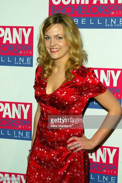 Jo Joyner during Company Magazine Presents The Bachelor Of The Year Awards 2004 at Heaven Villiers Street London in London Great Britain